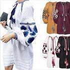 New Vyshyvanka Embroidered Dress Ukrainian Folk Ethnic Vita Kin Style M