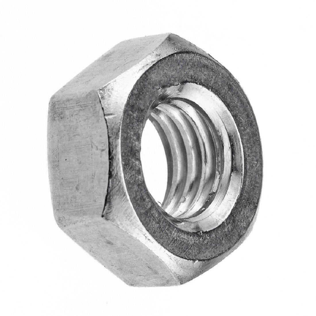 Sechskantmuttern 6-kant Muttern - DIN 934 - DIN EN ISO 4032 - Edelstahl A2 blank