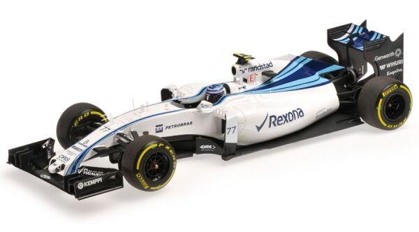 Williams Mkonstini Racing Mercedes FW37 nr.77 Abu Dhabi Gp 2015 (Valtteri Bottas)