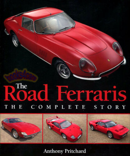 ROAD FERRARIS COMPLETE STORY BOOK PRITCHARD FERRARI CARS THE ANTHONY