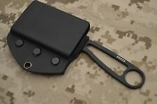 ESEE CUSTOM KYDEX EDC HORIZONTAL SHEATH BLACK FOR IZULA OR IZULA II #IZ1 USA