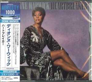 DIONNE-WARWICK-HEARTBREAKER-JAPAN-CD-B63