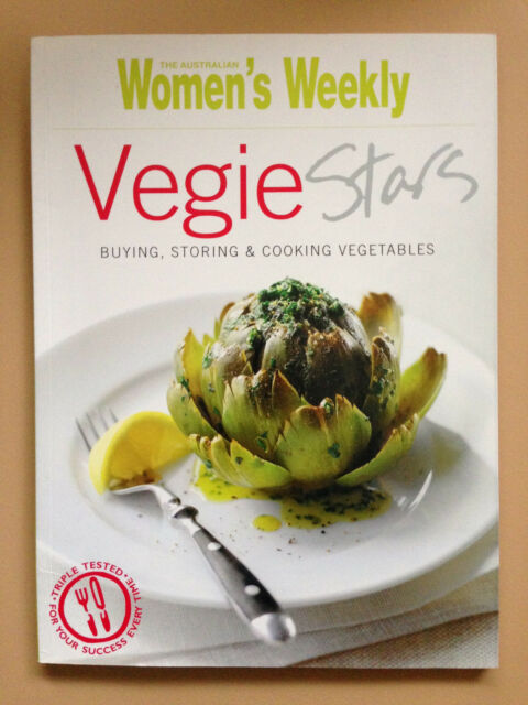 AUSTRALIAN WOMENS (WOMEN'S) WEEKLY~VEGIE STARS ~VEGETARIAN ~ COOKBOOK~ 119 PAGES