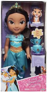 NEW Disney Princess Jasmine Tea Time With Rajah Tea for Two Toddler Doll