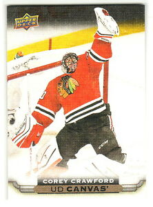 2015-16-Upper-Deck-CANVAS-C22-COREY-CRAWFORD-Chicago-Blackhawks-QTY-Available