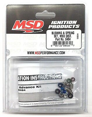 MSD Ignition 8628 Pro-Billet Distributor Advance Weight Kit