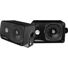 New! Pyle m3.5-Inch 200 Watt 3-Way Weather Proof Mini Box Speaker System (B
