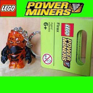 LEGO Power Miners Minifigur Firax Schlüsselanhän<wbr/>ger Key Chain keychain