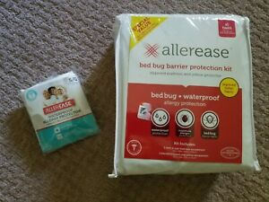 AllerEase Bed Bug/Dust Mite Allergy Mattress 2Pillow ...