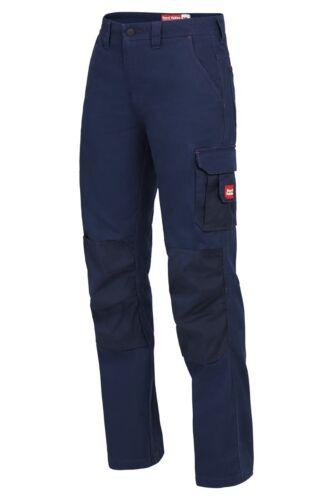 SALE Womens Hard Yakka Legends Work Tough Pants Cargo Panama Weave Cotton Y08079