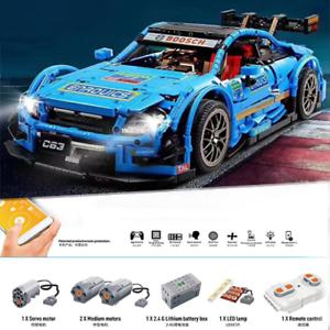 Custom-Technic-C-63-Racing-Car-42056-42083-Building-Blocks-Bricks-MOC-1970-Parts