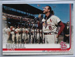 2019 Topps Series 2 Baseball Super Short Print Stan Musial #623 STL Cardinals