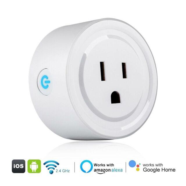 NEU WIFI Smart Steckdose uns Amazon Alexa Echo DOT Google Home Voice Assistant
