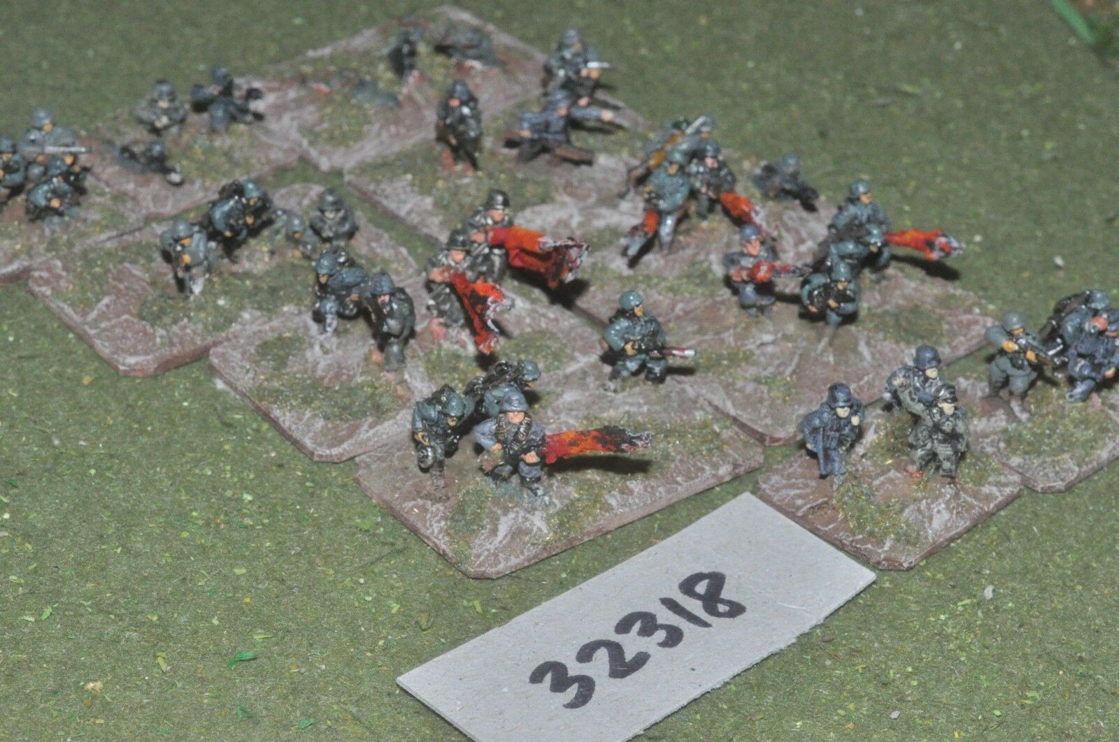 15mm WW2   german - assault engineers 36 figures - inf (32318)