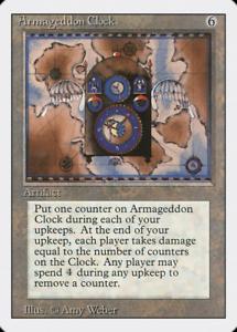 RG 4RCards 1 MTG Unlimited Edition Excellent//Near Mint Armageddon X