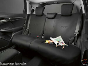 Image Is Loading Genuine OEM Honda Fit Rear Seat Cover 2015