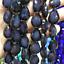 20Pcs Colorized Ceramics Crystal Glass Teardrop Spacer Beads Jewelry DIY 13X18mm