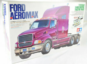 Tamiya Ford Aeromax 1/14 Electrique Rc Semi Camion Tracteur Kit 56309