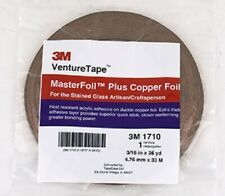 3 rolls 3//16 Copper Foil 1.0 Mil