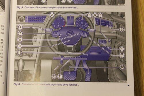 GENUINE VW PASSAT B8 2015-2017 MAIN OWNERS MANUAL HANDBOOK print 2014