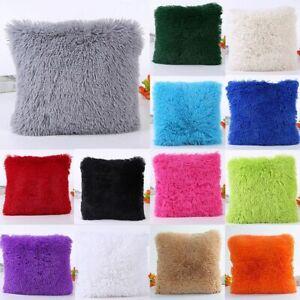 Sofa-Funda-de-cojin-Throw-Pillow-cases-Invierno-caliente-Forro-de-felpa