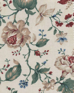 Longaberger-Weekender-Heirloom-Floral-Fabric-Liner-NIP