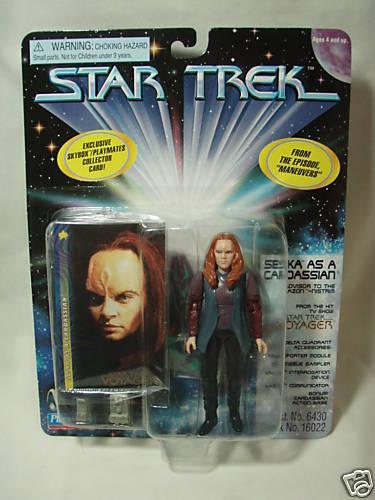 Playmates Star Star Playmates Trek Seska as Cardassian 7cc21f