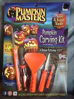 Pumpkin Masters Pumpkin Carving Kit With Tools And Patterns -