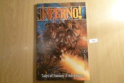 Gw Inferno Tales Of Fantasy & Avventura-issue 26 2001 Ref:1543-mostra Il Titolo Originale Eccellente Nell'Effetto Cuscino