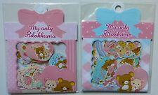 San-x Rilakkuma Kawaii Bear Sticker Sack Pack flakes Lot Japan New A