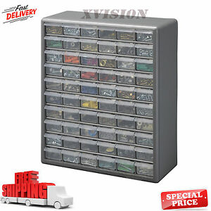 Image Is Loading 60 Drawer Storage Cabinet Parts Organizer Hardware Small