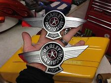 Genuine HARLEY EMBLEMS COLLECTIBLE FATBOY GAS FUEL TANK EMBLEMS SET