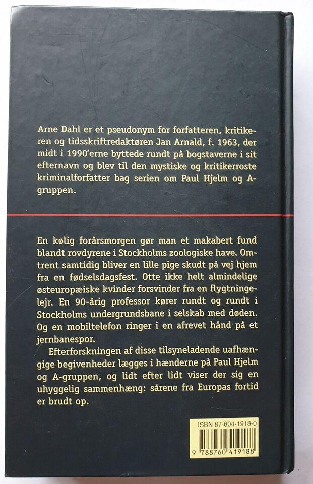 Europa Blues, Arne Dahl, anden bog