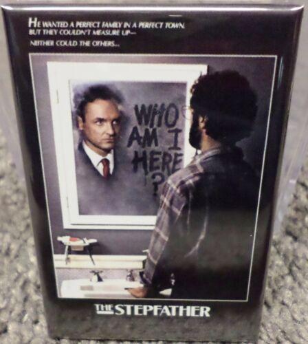 "Stepfather Movie Poster 2/"" x 3/"" Refrigerator Locker MAGNET"