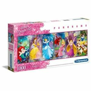 Clementoni Disney Princess Panorama 1000 Pieces Jigsaw Puzzle High Quality