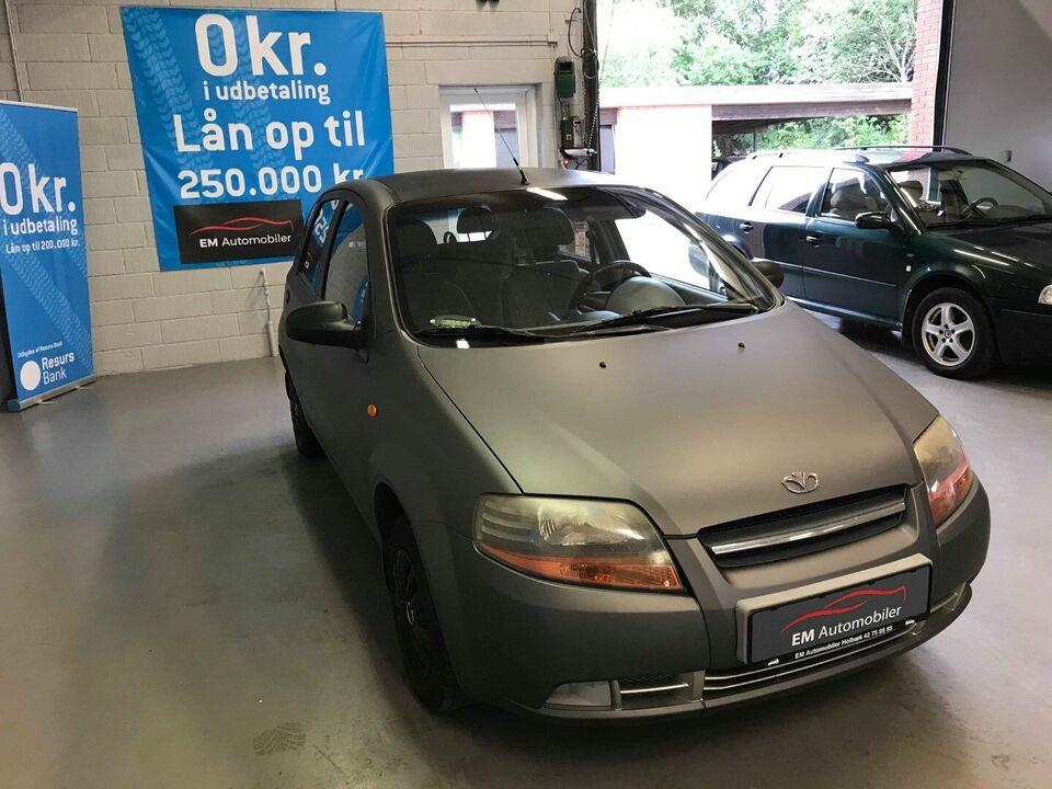 Daewoo Kalos 1,4 SE Benzin modelår 2004 km 192000 træk 1