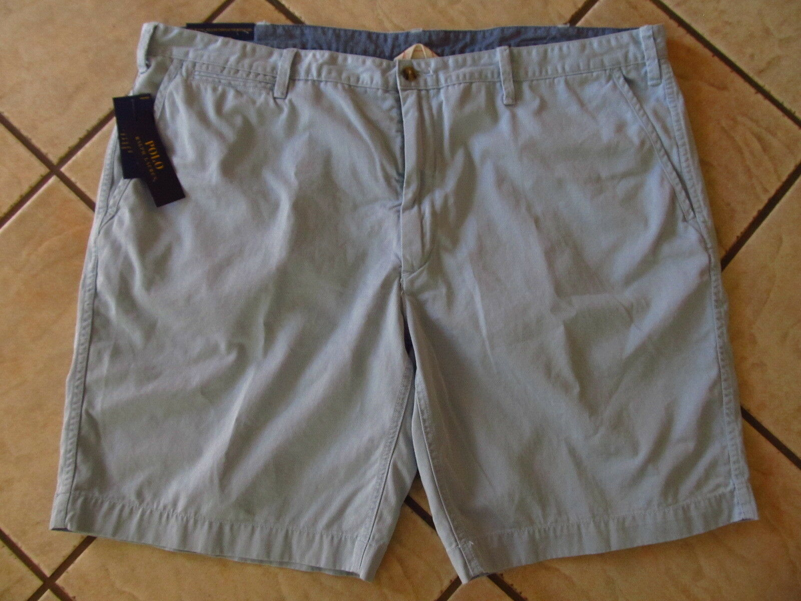 Polo Ralph Lauren Classic Fit 10  Shorts Mens Size 46B Hampton bluee NWT