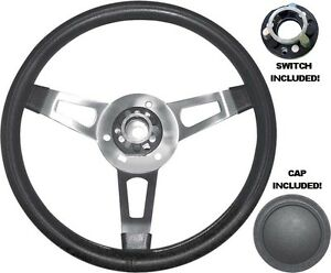 Details about Mopar Tuff Steering Wheel with Cap and Functioning Switch  Assembly Cuda Charger