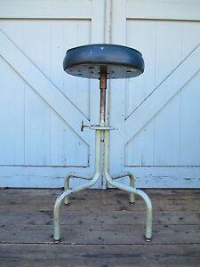 Excellent Details About Machine Age Drafting Stool Mid Century Industrial Steampunk Royametal Modern Uwap Interior Chair Design Uwaporg