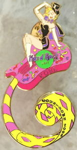 Hard-Rock-Cafe-KOBE-2003-New-Year-PIN-Party-Girl-on-Coiled-Guitar-HRC-18125