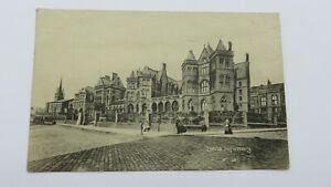 Postcard Leeds Infirmary, Horse & Cart, People Posing. Early 20th Century. Yorks