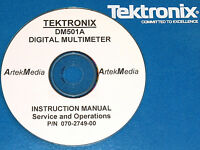 Tek Dm501a Digital Mulitmeter Ops & Service Manual