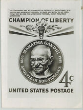 Rare USPOD Publicity Photo Essay 1174 Mahatma Gandhi India Champion of Liberty