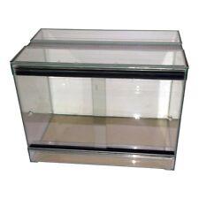 Terrarium mit Schiebetür - 40x25x30 cm - Schlangen Amphibien Vollglasterrarium