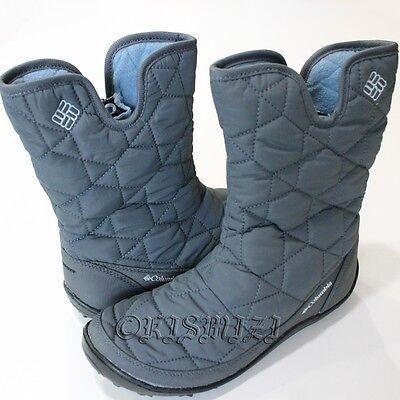 "New Womens Columbia ""Powder Summit Slip"" Waterproof Winter Snow Boots"