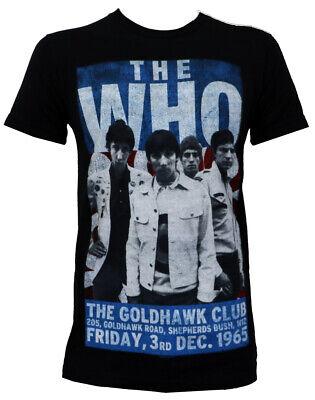 Authentic THE WHO Gold Hawk Club Slim-Fit T-Shirt S M L XL 2XL NEW