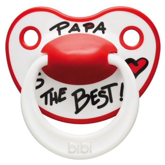 Bibi Happiness Schnuller I Love Mama und Papa is the Best