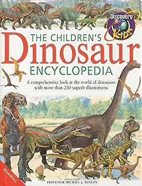 Children's Dinosaur Encyclopedia by Johnson, Jinny