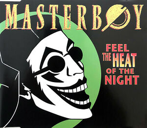 Masterboy-Maxi-CD-Feel-The-Heat-Of-The-Night-Europe-VG-VG