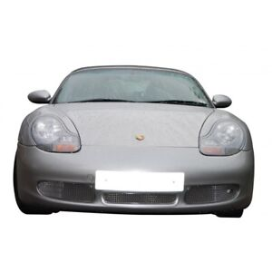 Zunsport Polished Front And Side Mesh Grille Kit Porsche Boxster S